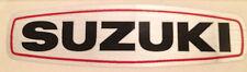 SUZUKI TS125 TS185 TS250 ENGINE COVER DECAL