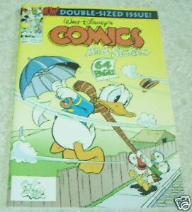 Walt Disney's Comics and Stories 571, NM- 9.2 Atom Bomb