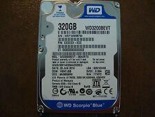 "Western Digital WD3200BEVT-80A0RT0 DCM:HBNTJBB 320gb 2.5"" Hard Drive"