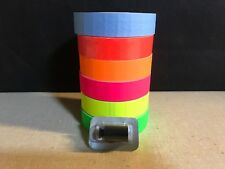 1131 Style Monarch Labels Yellow Green Pink Blue Orange Redamp 1 Ink Roller