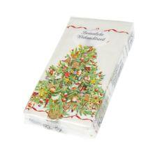 """Papiertaschentücher Weihnachtsbaum """"Besinnliche Weihnachtszeit"""" (5er Pack)"""