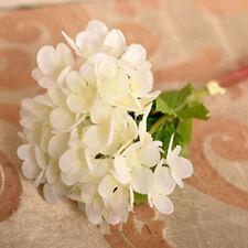 Wedding Bridal Bouquet Hydrangea Flowers Silk Artificial CN
