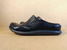 Merrell Quest Slide Black Leather Performance Flex Mule Clogs Women's Size 7.5 M