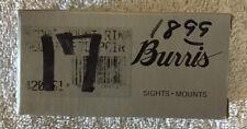 Burris Scope Rings Medium Standard Nos 420051