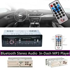 New Car Stereo Bluetooth Audio In-Dash FM Aux Input Receiver SD USB MP3 Radio