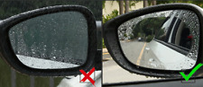 2x AUDI CAR/VAN SIDE MIRRORS WATER PROOF & ANTI-FROST/GLARE OVAL FILMS