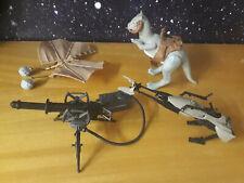 STAR WARS Vintage Kenner Sammlung SPEEDER BIKE TAUNTAUN LASER CANNON EWOK GLIDER