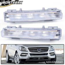 For Mercedes Benz W166 Ml350 X204 Pair Led Daytime Running Light Drl Fog Lamp (Fits: Mercedes-Benz)