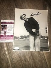 Fred Haas 1953 Ryder Cup  Signed  8x10 Photo JSA