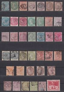 Jamaica 1860-1900 Queen Victoria Collection 39 Stamps SCV $342.90