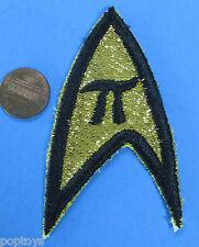 PATCH Star Trek TOS MATERIEL insignia  Metallic Thread