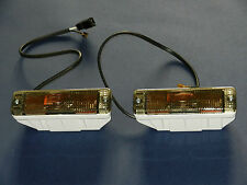 Pair Smoked Front Indicator Repeaters VW Golf 1 & 2 Jetta Caddy Polo  AUDI 50 80