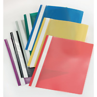 Qty 25 A4 Project Report Files Folders 2 Prong Same Day Dispatch Free P&P