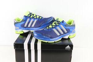 NOS Vintage Adidas Supernova Glide 5 Running Jogging Gym Shoes Blue Mens Size 9