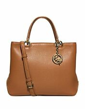 Michael Kors Bag 30S6GAPT2L MK Anabelle Medium Leather Tote  & SHOES SET