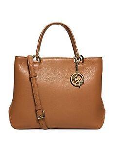 Michael Kors Bag 30S6GAPT2L MK Anabelle Medium Leather Tote  & SHOES SET