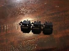 Yamaha RM1X Panel Button Small Black Row of Three