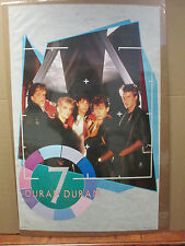 Vintage Duran Duran rock original Poster 1984 ORIG 5674