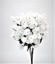 12 Baby's Breath Gypsophila Wedding Centerpieces Bouquet Silk Flowers - White