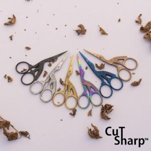 Stork Embroidery Scissors And Cross Stitch Sewing Bird Small Tool Scissor