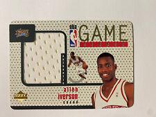 1997-98 Allen Iverson Upper Deck Game Jersey Patch GJ6 BEAUTIFUL!