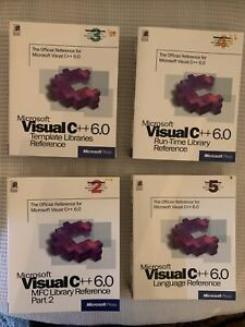 Microsoft Visual  C++ 6.0 Volumes 2-5 Slightly Used
