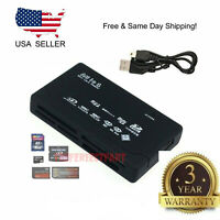 Mini 26-IN-1 USB 2.0 High Speed Memory Card Reader For CF xD SD MS SDHC