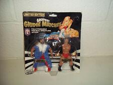 VINTAGE AWA REMCO GRUDGE MATCH JIMMY GARVIN VS SCOTT HALL MOC WWF WWE LJN