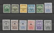 COLLECTION OF 1915 ONWARDS EL SALVADOR STAMPS USED AND UNUSED VARIOUS OVERPRINTS