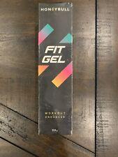 New Factory Sealed HoneyBull Fit Gel (7.7 oz) Workout Enhancer Free Shipping USA