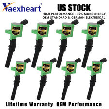 8Pcs Pack Ignition Coils For Lincoln V8 Ford E-350 Expedition 4.6L LOBO F150 5.4