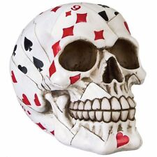 Totenkopf Totenschädel Skull Poker Mystik Halloween Gothic Fantasy Deko DOD251