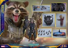 Hot Toys MMS410 1/6th scale Rocket Figure Guardians of the Galaxy Vol. 2