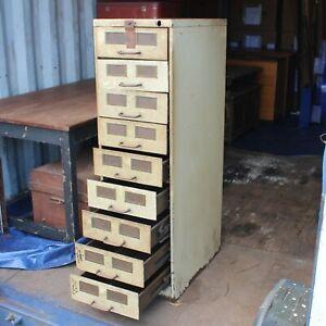 Steel 9x split drawer general storage heavy duty cabinet tools garage mechanics