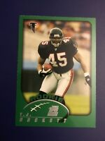 2002 Topps #373 T.J. DUCKETT ROOKIE RC Atlanta Falcons Michigan State LOOK !