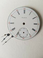 Elgin 6s 1910 Pocket Watch Face and Hands Original Parts Watchmaking tools