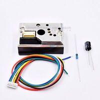 GP2Y1010AU0F Dust Sensor Module Sharp PM2.5 Detector Compact Optical Air Monitor