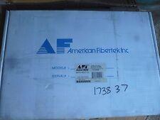 New AFI American Fibertek MRR-880C-SL 8-Channel FM Video Module/Rack RX, SM