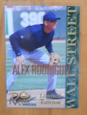 Alex Rodriguez 2000 Royal Rookies Wall Street Limited Edition