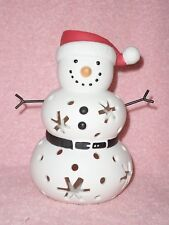 Partylite Santa Snow Tealight Holder - Holiday!