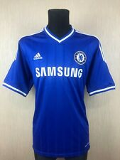 CHELSEA 2013/2014 HOME FOOTBALL SOCCER JERSEY SHIRT ADIDAS ADULT SIZE XL