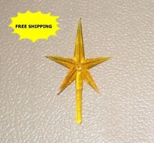 Yellow Star for your Ceramic Christmas Tree topper ****FREE SHIPPING****