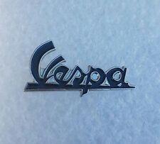 Black Vespa name Scooter enamel pin / lapel badge biker mod