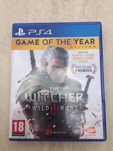 The Witcher 3 GOTY (Incluye todos los DLC) PS4