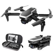 S171 Bolsillo Mini Drone Cuadricóptero RC conectividad Wi-fi Gps Con Cámara 4K HD