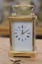 Vintage Suisse Mathew Norman 8 Diurne Pièce Grande Corniche Calèche Horloge