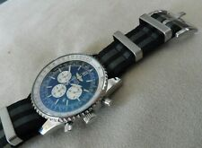 James Bond Canvas Nato Style Watch Strap for Breitling Navitimer Bentley 22 mm