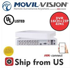 16CH DVR 1080p-Lite,ANALOG/IP/HDTVI/AHD HIKVISION OEM UL HIK-CONNECT MS-TA8216GH