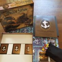 Winds of Fortune Board Game Naval Strategy Pirates Tall Ships Safe Haven Games