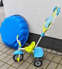 Kinder Dreirad Smartrike für 1 bis 4 Jahre, blau gelb, sehr gute Zustand